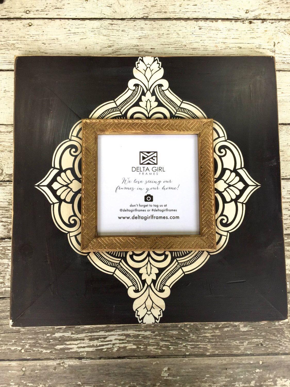 8x8 henna frame by deltagirlframes on etsy httpswwwetsycom - Etsy Frames