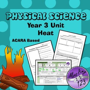 Australian Curriculum Year 3 Physical Science Heat Unit | Physical ...