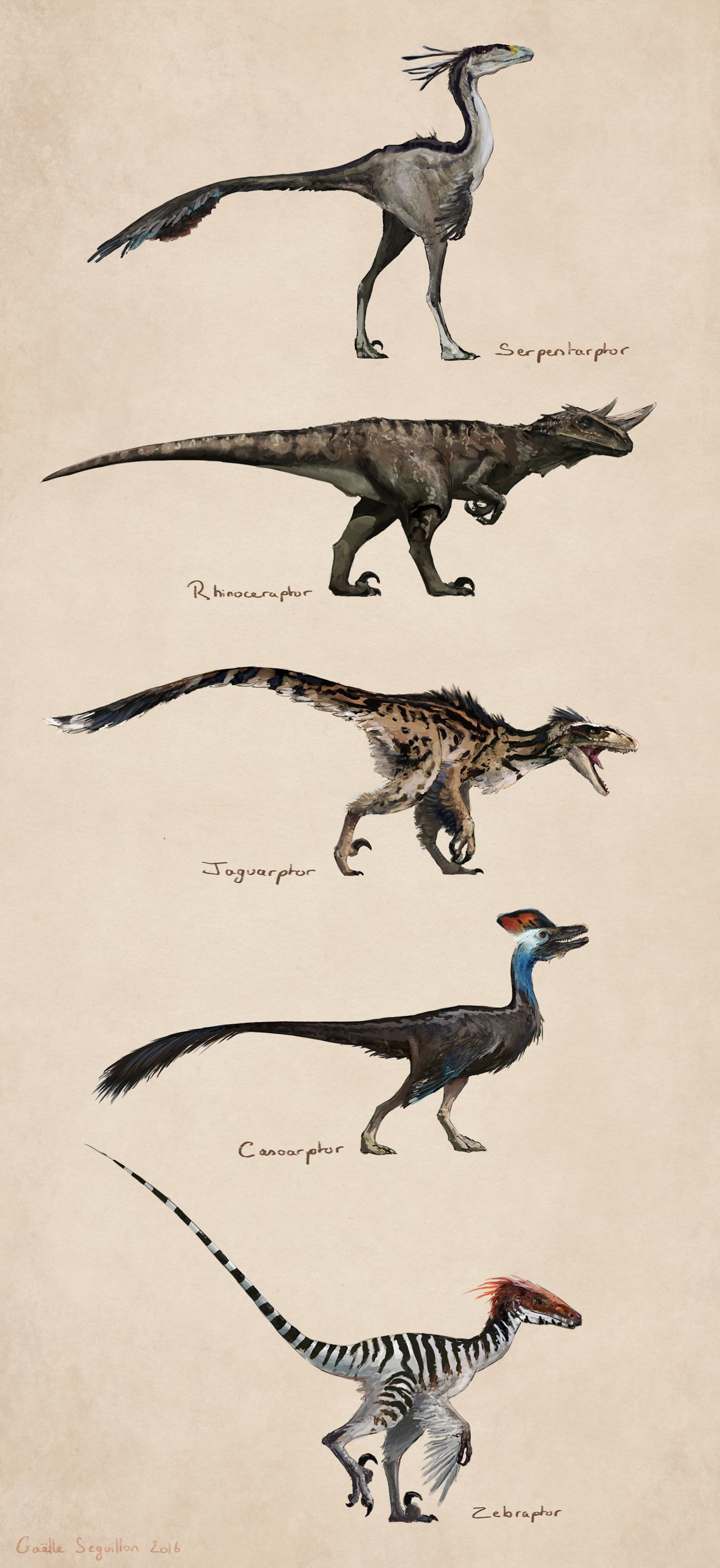 Savanna raptors, Gaëlle Seguillon
