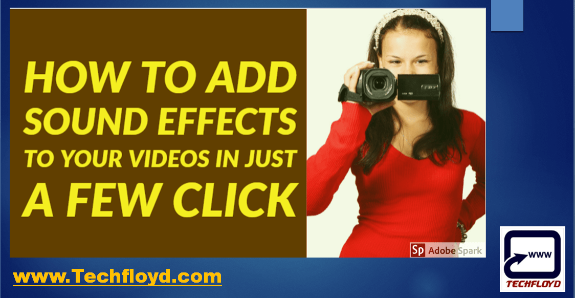 How to Add Sound effects to your videos in just a few