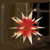 3-D star hanging lights Schöner Weihnachtsstern ANNA