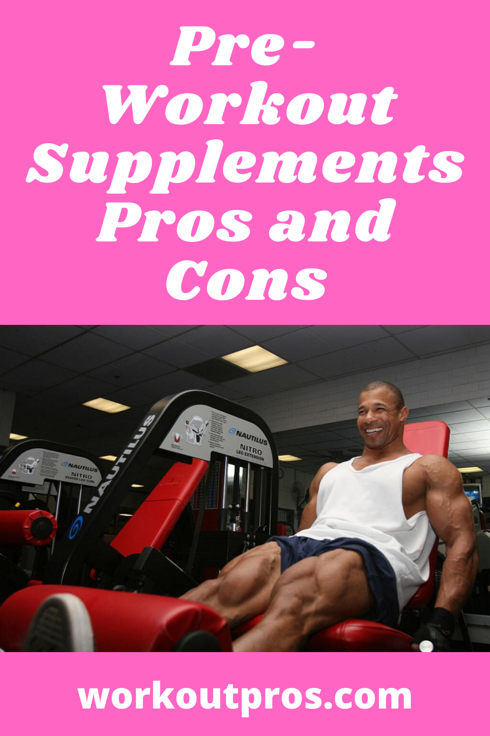 Pre Workout Supplements Pros And Cons Workout Supplements Pre Workout Supplement Workout