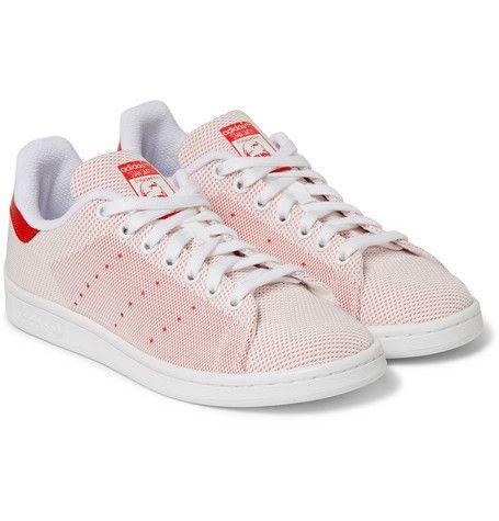 905885b38b6f adidas Originals Stan Smith Mesh Sneakers