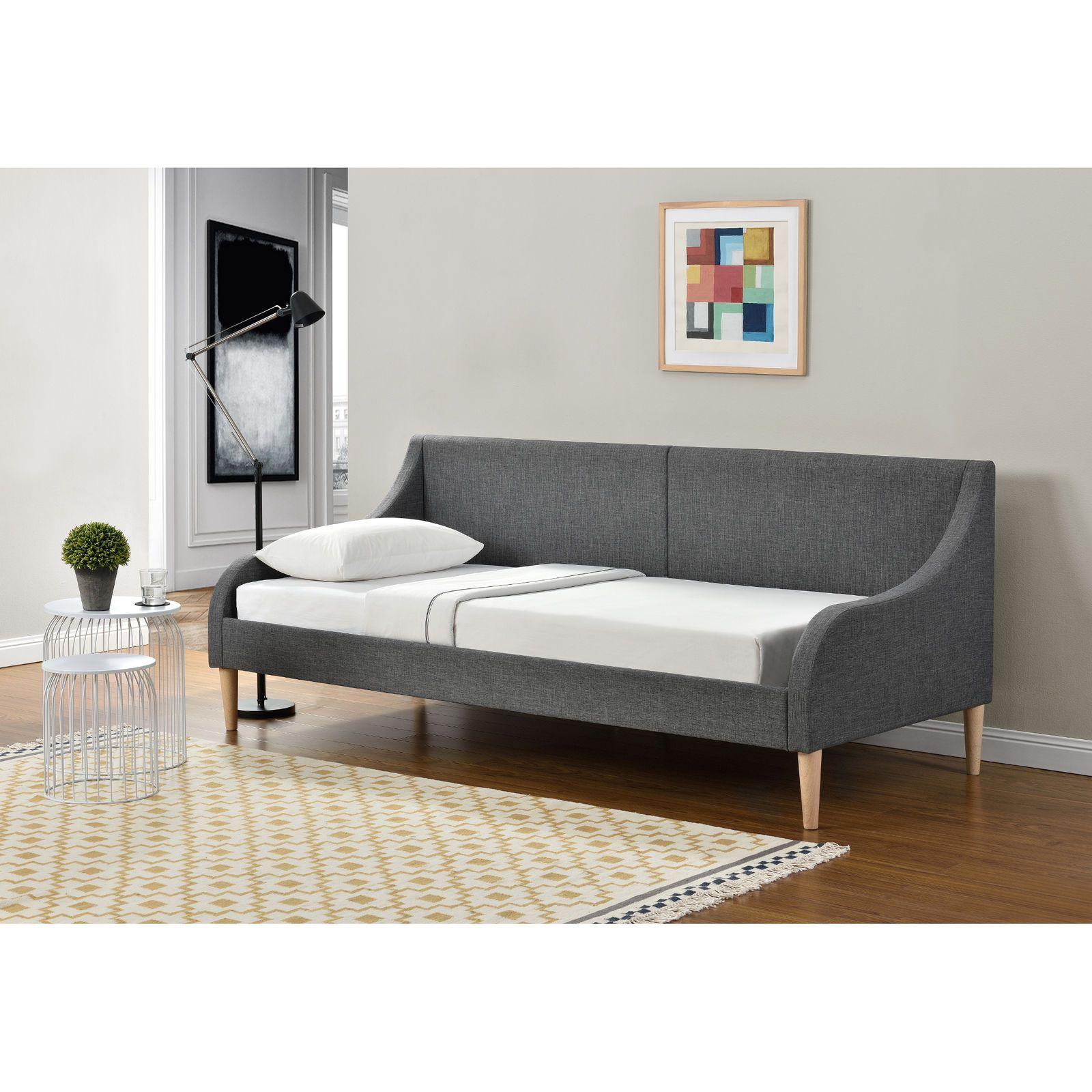 En Casa Tagesbett 90 X 200 Cm Schlafsofa Bett Textil Bettgestell Schlafzimmer Ebay Mit Bildern Bettgestell Tagesbett Bett 180x200