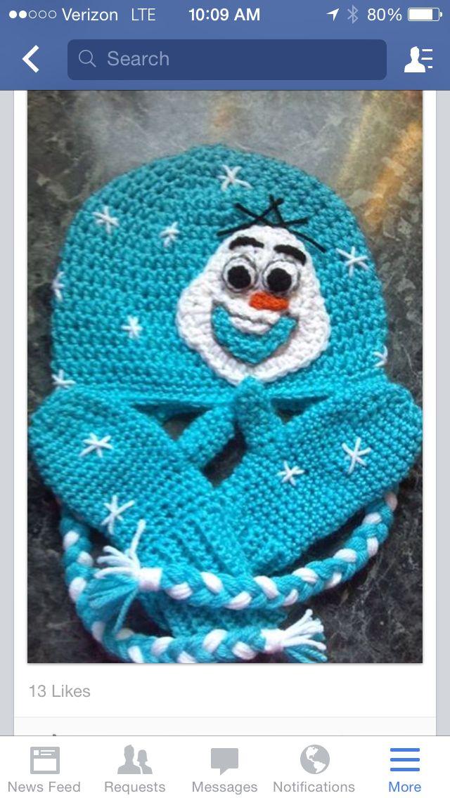 Frozen Olaf hat | holiday hats | Pinterest | Gorritas tejidas ...