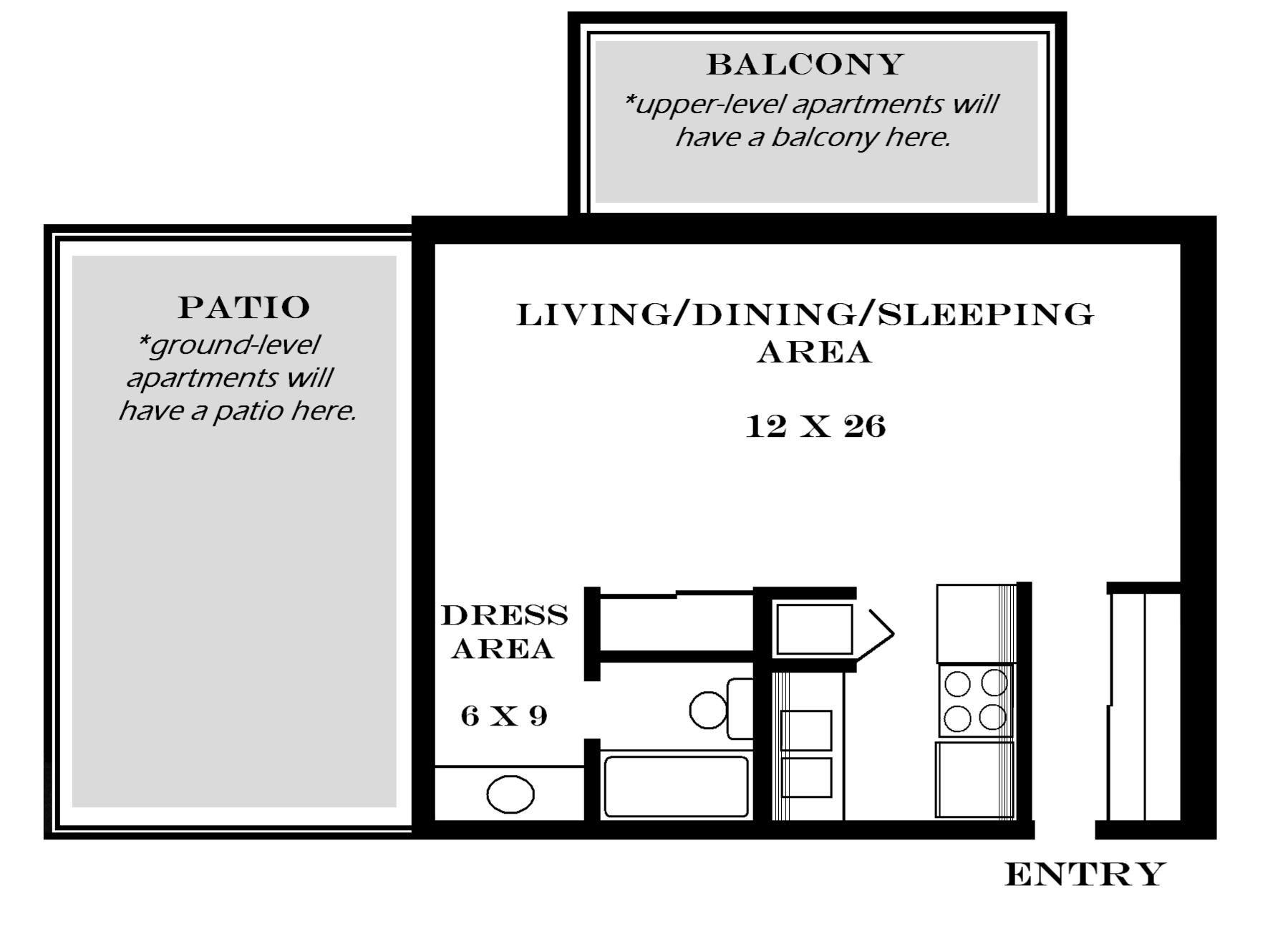 Studio Blueprints Bedroom Ks Studio Floor Plans Duplex Home