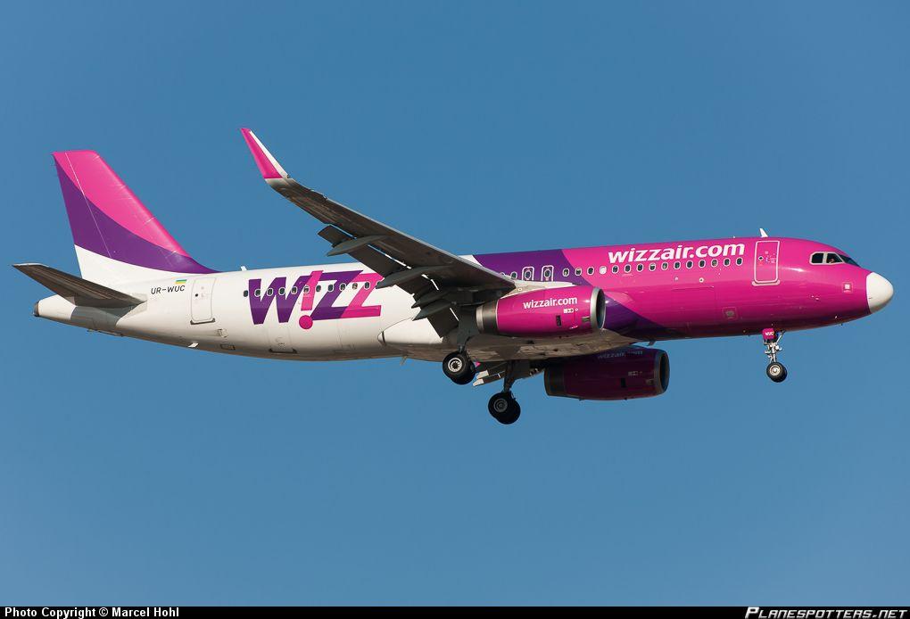 UR-WUC Wizz Air Ukraine Airbus A320-200   Airbus, Aircraft