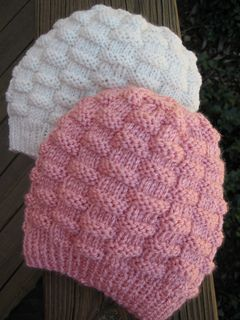 94ab880dcf0 Basket-Weave Baby Hat pattern by Carole Barenys