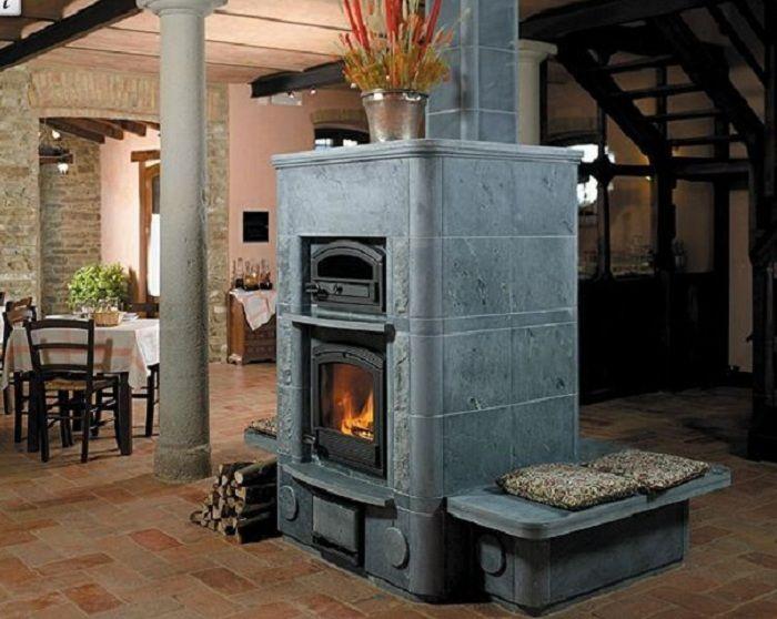 Soapstone Masonry Heater: Soapstone Masonry Heater. Roughly $9000. Plus... Masonry