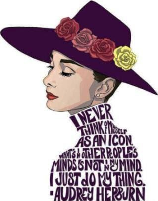 Breakfast At Tiffanys Quotes Wallpaper Audrey Hepburn Typography From A Different Perspective