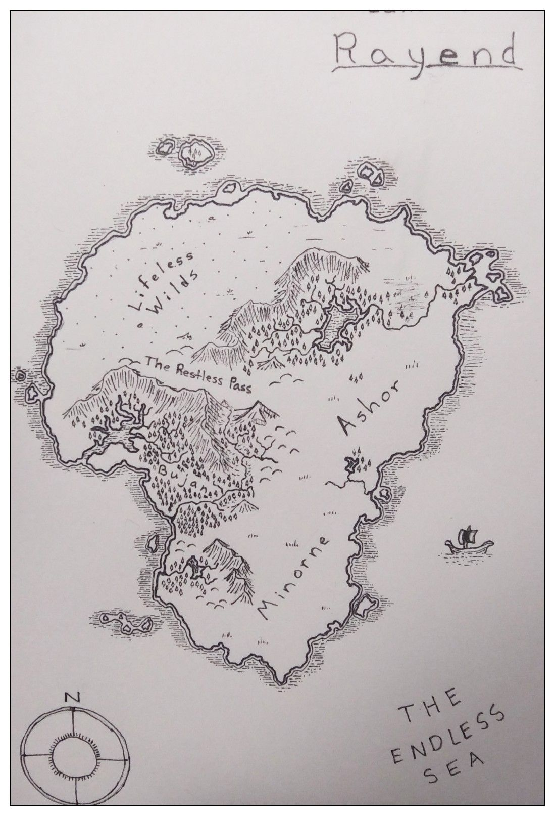 Draw your own fantasy map