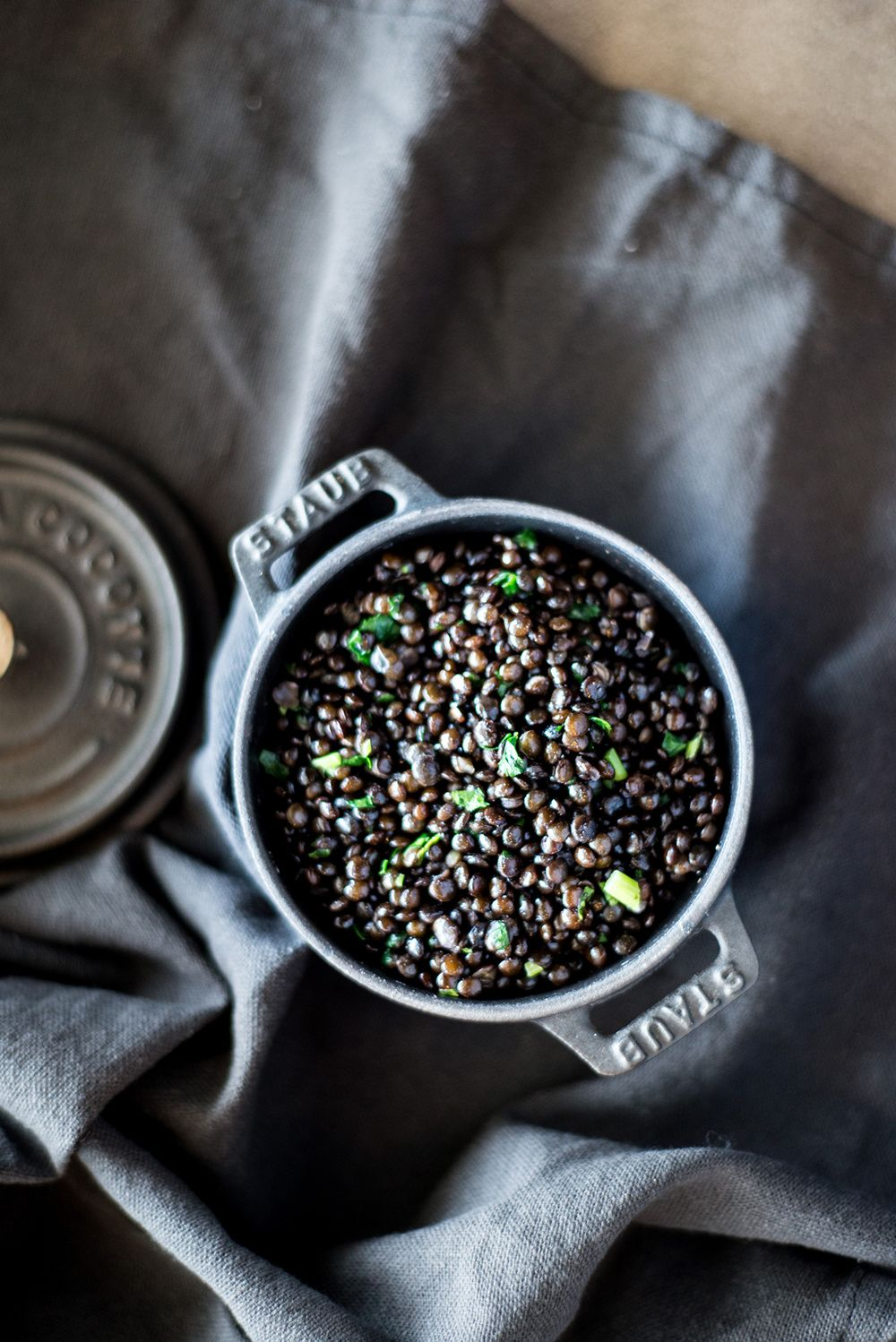 New In Town Black Lentils For Those Who Savor Black Lentils Lentil Recipes Lentils