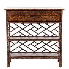 Chinese Chippendale Shelf - Custom Options  |  David Francis L6010