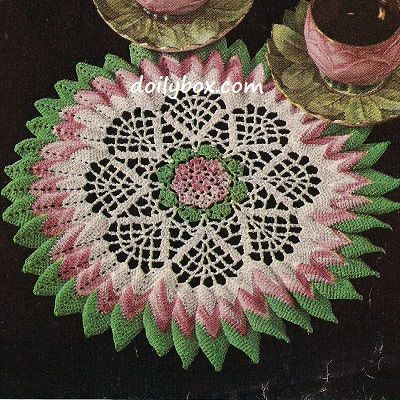 Free Vintage Crochet Doily Pattern More Crochet For The Home