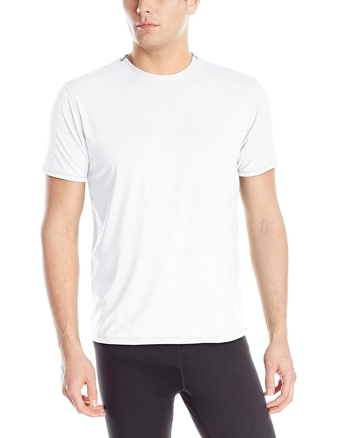 Men's Levity Shortsleeve Tee Shirt - Nickel - CJ11NYIIGYT - Sports & Fitness Clothing, Men, Shirts...
