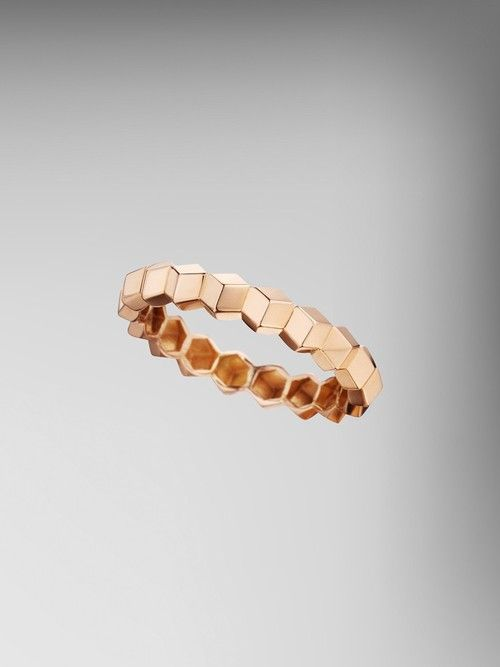 18kt Rose Gold Stackable Brillante Ring — Paolo Costagli, Designer Gemstone and Gold Jewelry for Women