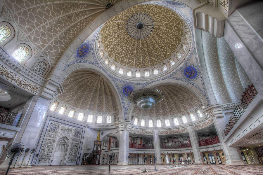 Wilayah Mosque, Kuala Lumpur, Malaysia