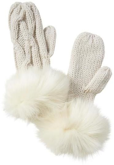 5943fca7b Athleta Faux Fur Mitts by Vincent Pradier® | Products | Faux fur ...