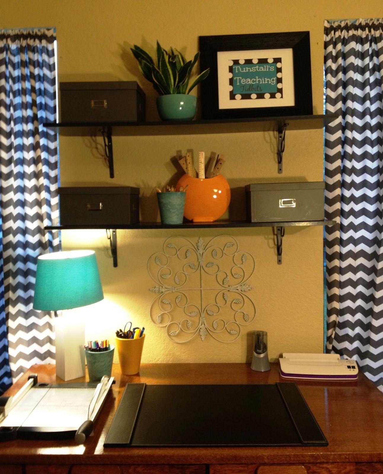 Home Office Makeover Reveal--My teacher heaven | Top Teachers ...