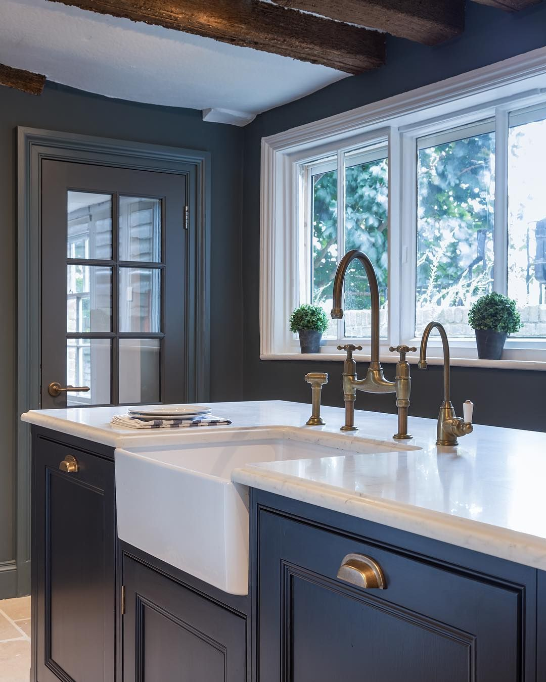 Dreamy Kitchen By Humphreymunson Featuring Our Ionian Mixer Tap And Rinse And Parthian Hot Water T English Country Kitchens Dining Room French Humphrey Munson