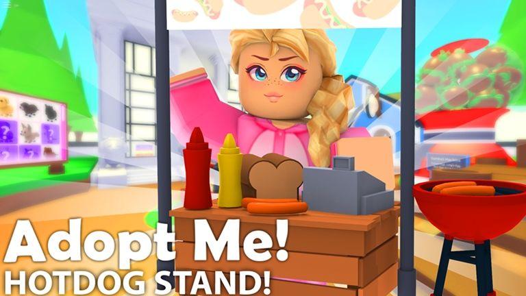 Pet Toys Adopt Me Roblox Adoption Pet Toys Hot Dog Stand