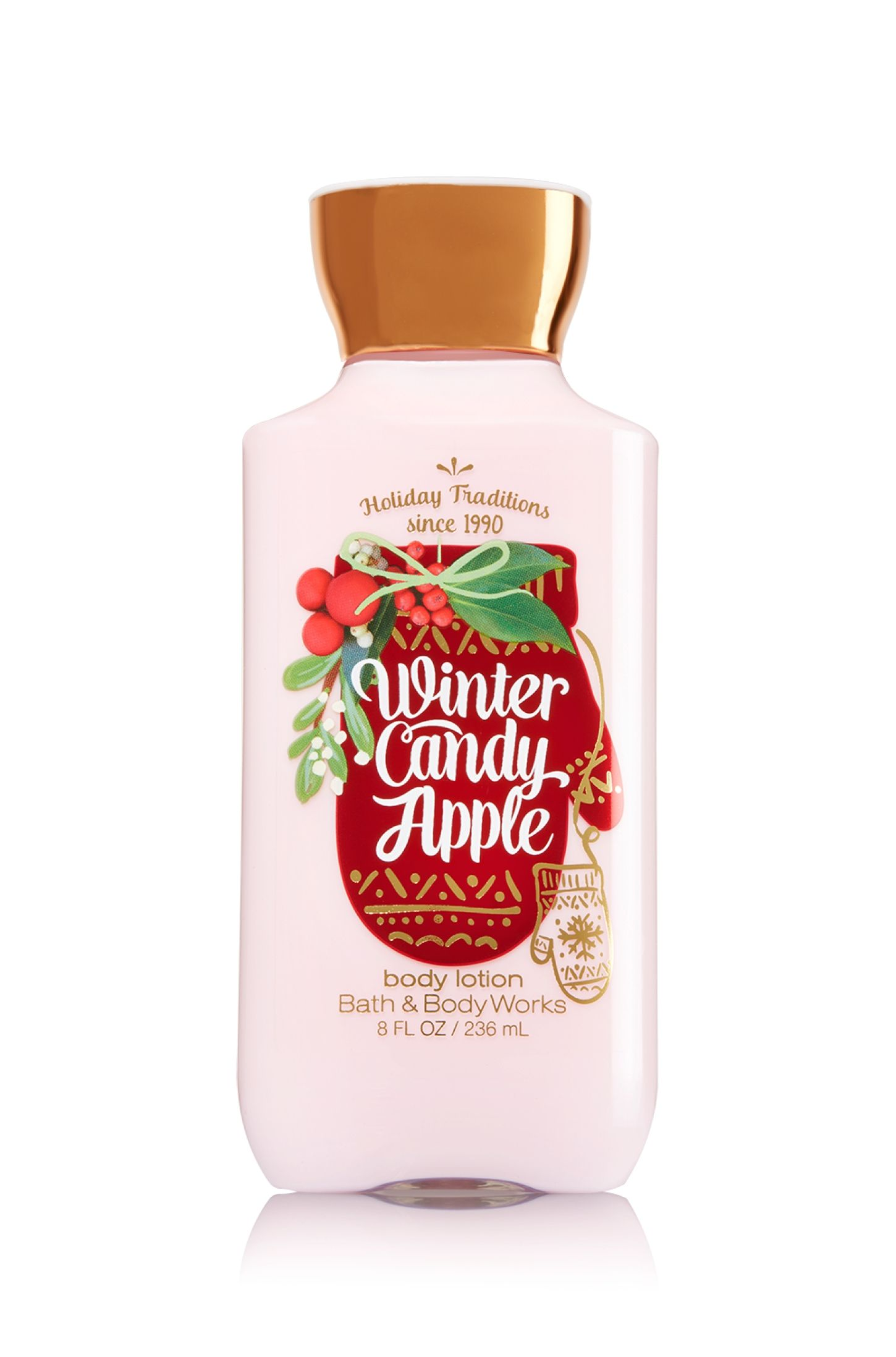 Winter Candy Apple Body Lotion Signature Collection Bath