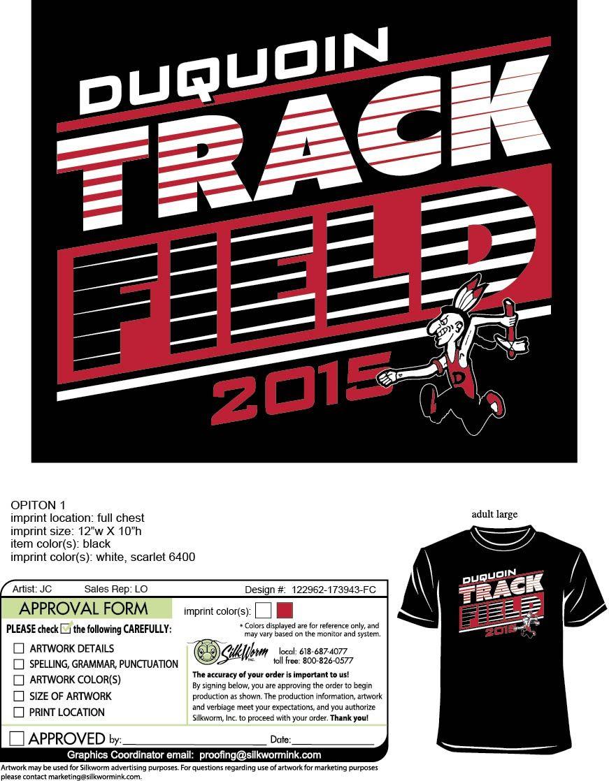 Duquoin Track Field Custom T Shirt Designs Pinterest Track