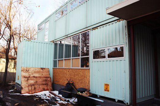 Look! Kansas City's New Cargo Container House