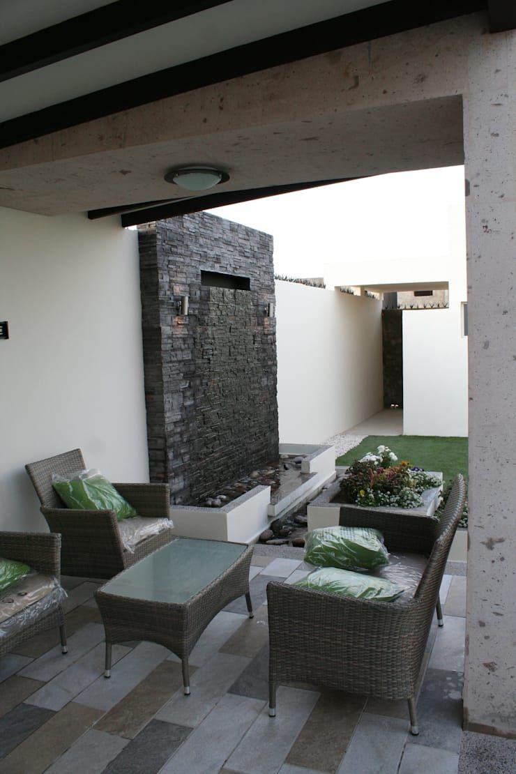 Patio La Encantada De Daniel Teyechea Arquitectura