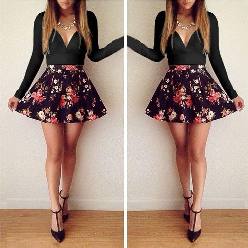 Vestidos bonitos de manga longa