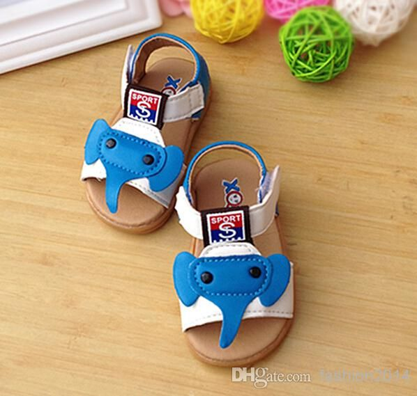 2014 Hot New Fashion Pu Elephant Breathable Children's Sandals Shoes K1892 Little Girl Shoes Online Cheap Kids Footwear From Fashion2014, $36.65| Dhgate.Com