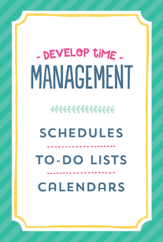 Life Planner Section Pages Develop Time Management Small Binder