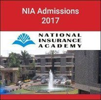 National Insurance Academy Announces Admissions 2017 National