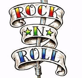 rock n roll clip art clipart best rock n roll pinterest rh pinterest com rock clip art border rocket clipart for kids free