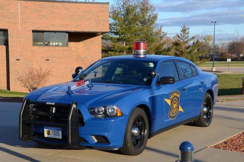 Patrulla de la Policía del estado de Michigan, en Estados
