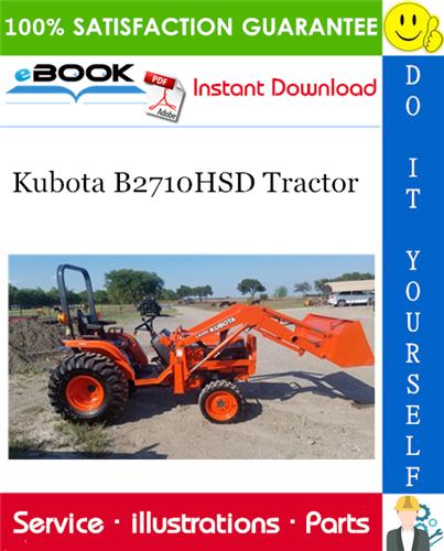 Kubota B2710hsd Tractor Parts Manual Tractors Kubota Tractor Parts