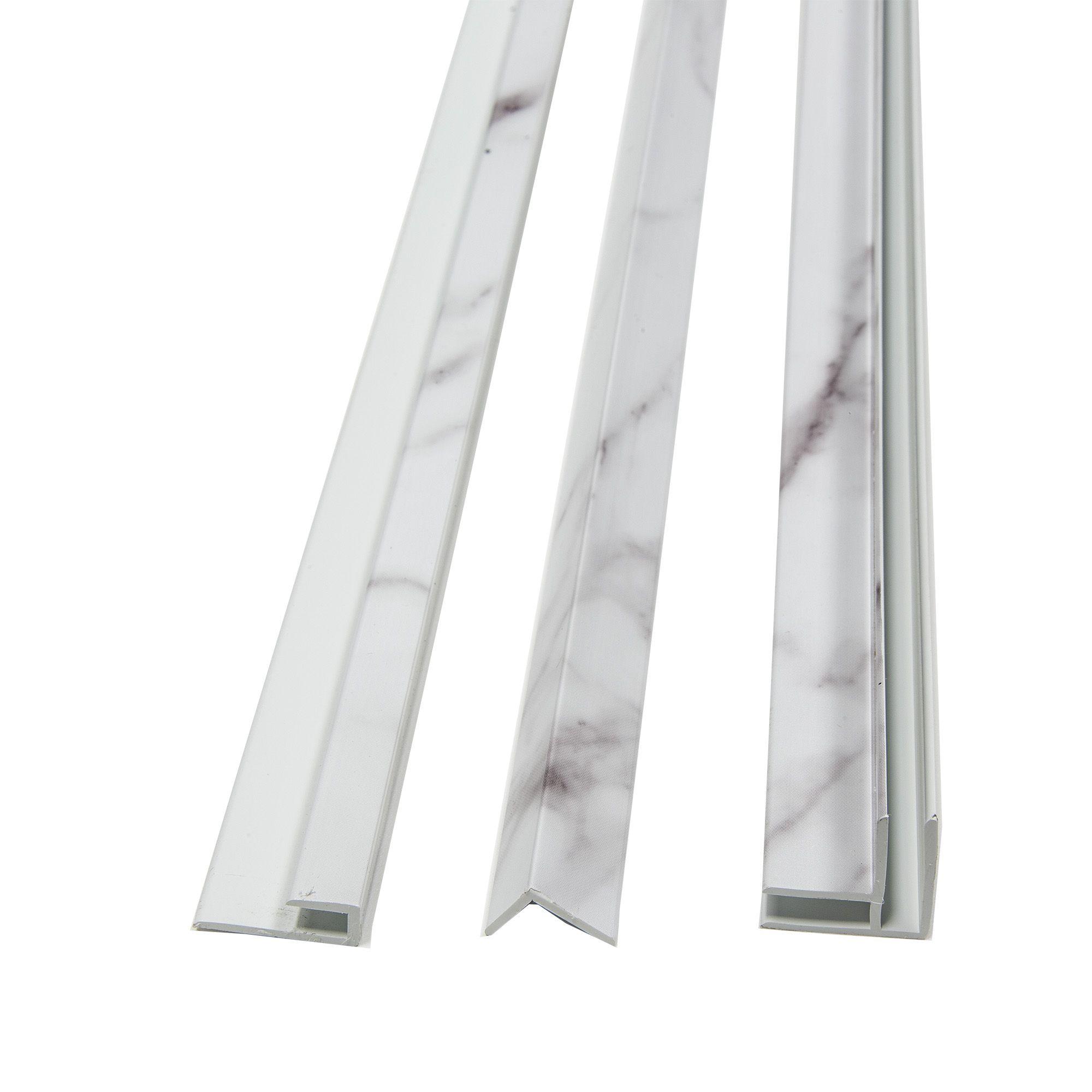 carrara marble trims tile edge tile