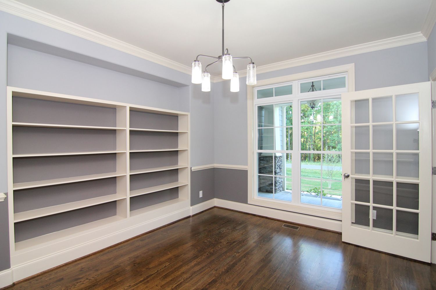 french doors for home office. Large Windows And Glass French Doors Light Up This Home Office. For Office I