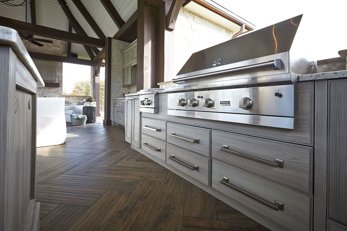NatureKast outdoor summer kitchen cabinets in Melbourne FL ...