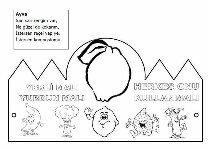 Songul Yasar Adli Kullanicinin Boyama Panosundaki Pin Boyama Sayfalari Okul Okul Oncesi