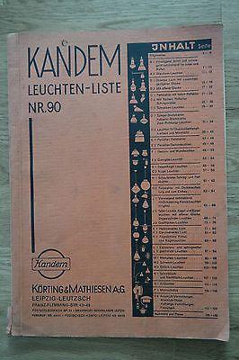 Bauhaus Lampen Kandem Leuchten Liste Nr Original