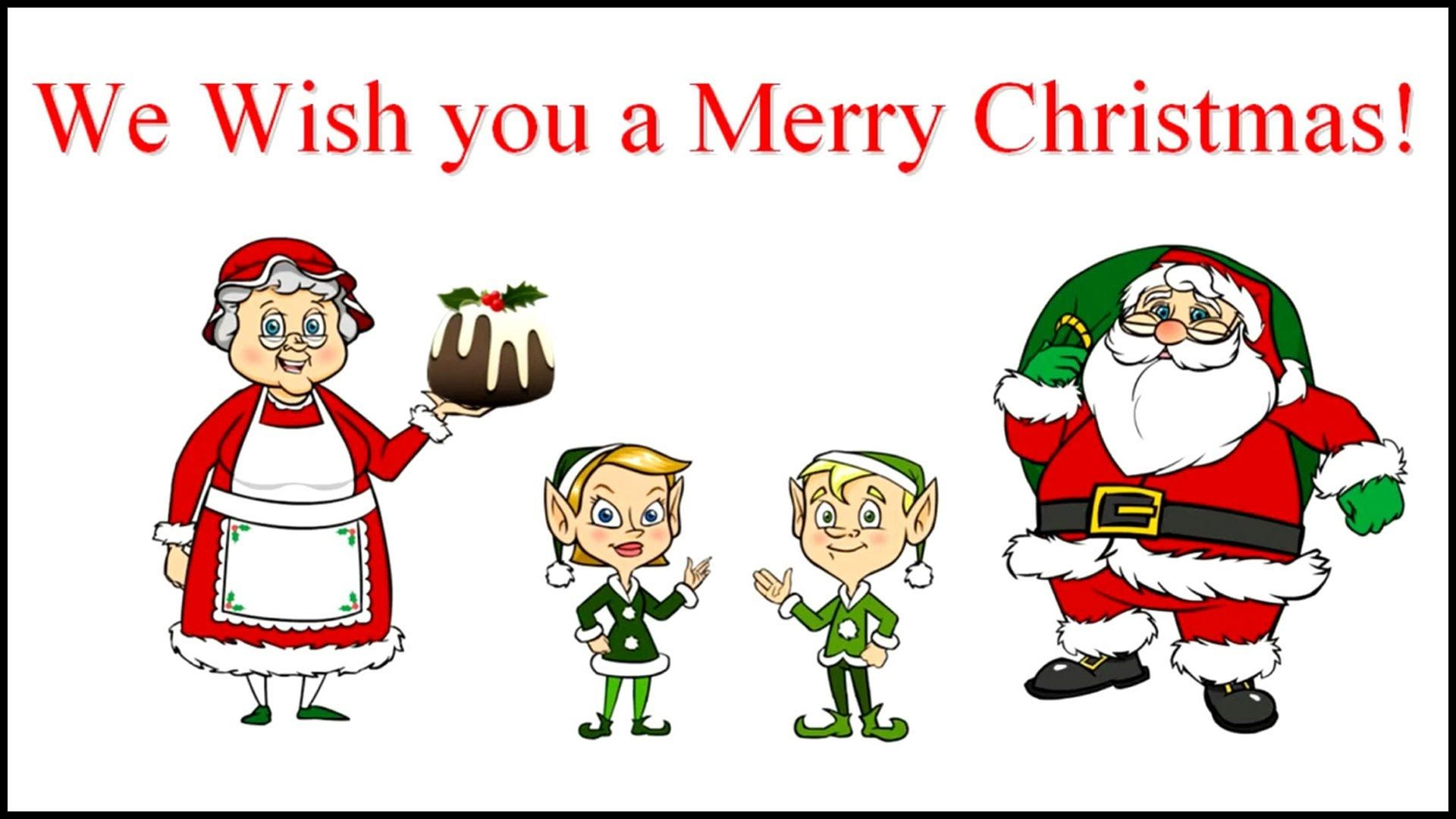 WE WISH YOU A MERRY CHRISTMAS Lyrics (With images) Adult