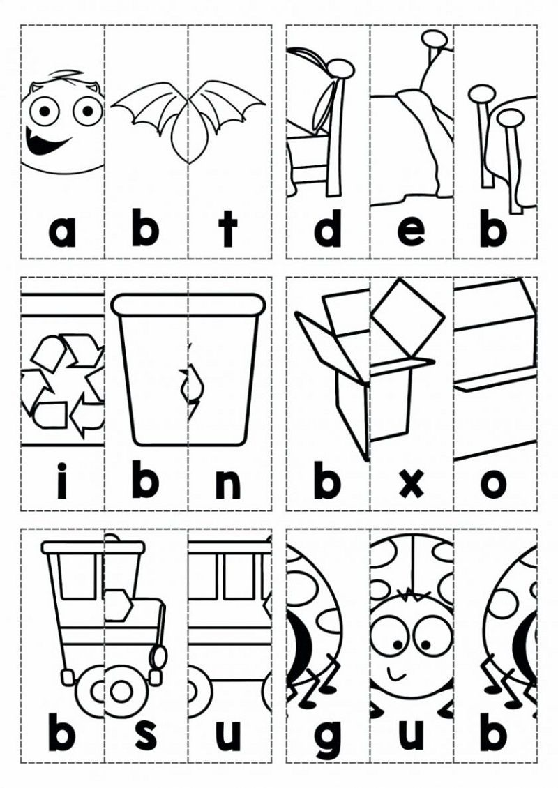 Free Kids Activity Pages Crafts for Training Alphabet