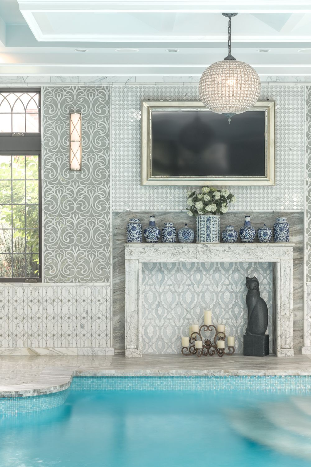 Artistic Tile I Waterjet Mosaics I This Outstanding Yonkers NY - Fred's floor tile