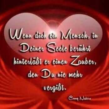 ...wenn dich ein Mensch in deiner Seele berührt...❤❤❗