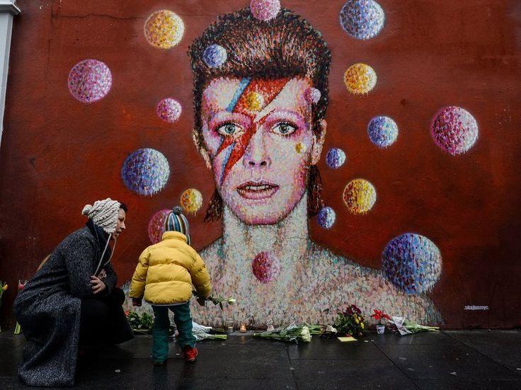 by Australian street artist James Cochran, aka Jimmy C, in Brixton, South London
