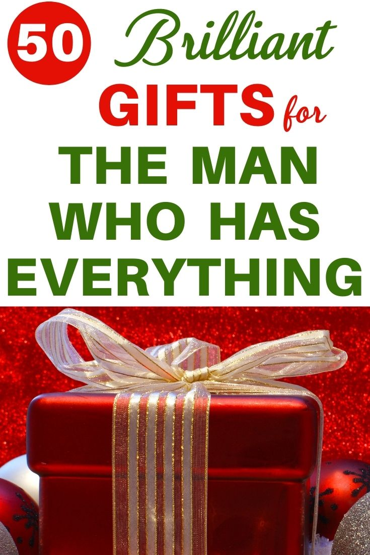 Christmas Gift Ideas for Husband Who Has EVERYTHING! 2020 in 2020   Unique christmas gifts ...