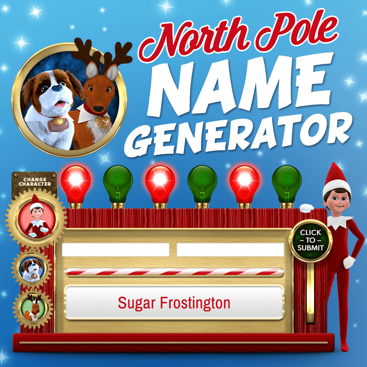 Fun Stuff for Kids Santas North Pole The Elf on the