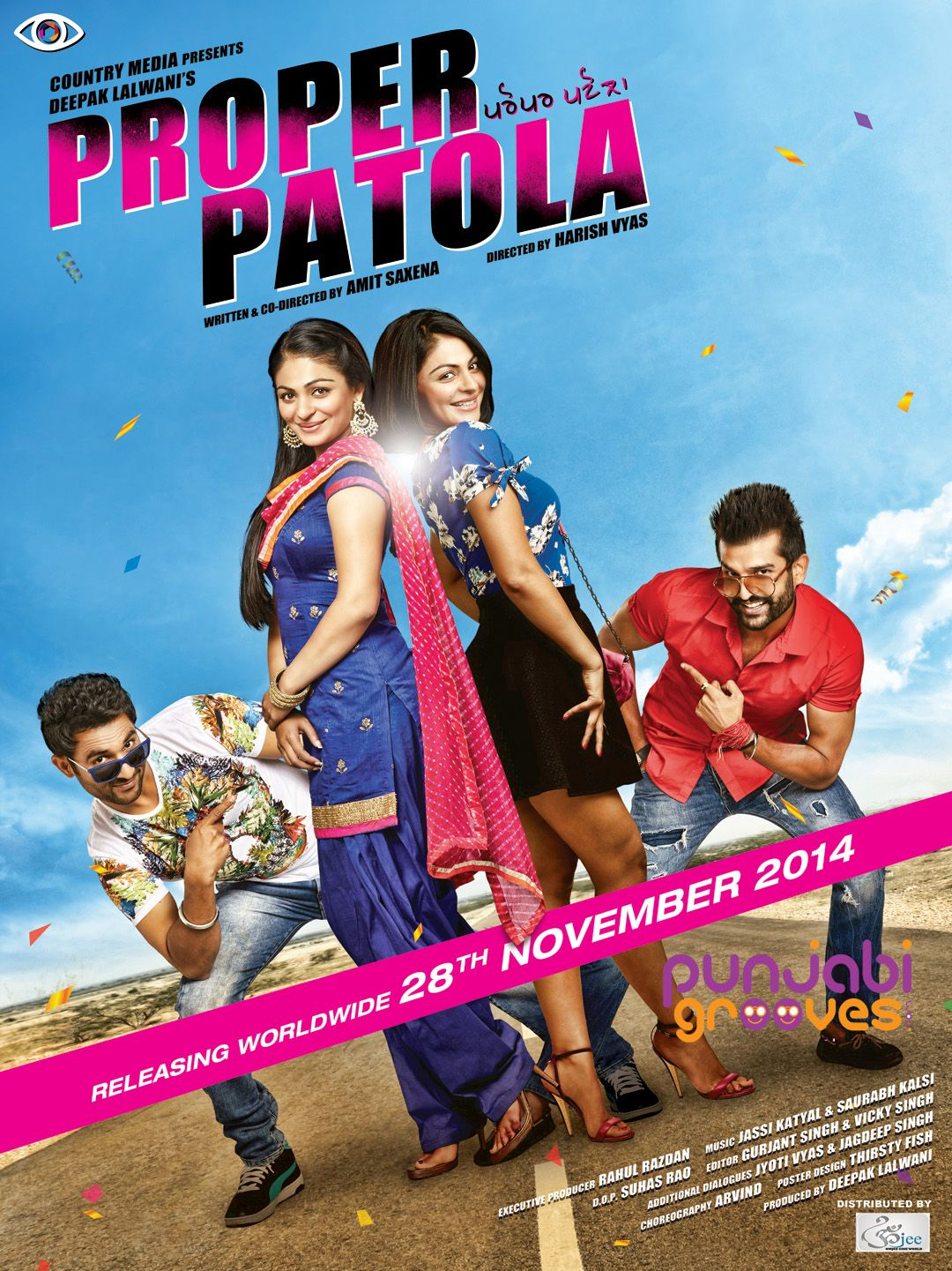 Poster design online free download - Poster Of Proper Patola 2014 In Hindi English Dual Audio 300mb Compressed Small Size Movies Online Freemovies