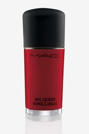 M·A·C Flaming Rose Studio Nail Lacquer